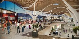 Design for new Cardiff Central Station